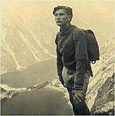 Marek Walicki Na wycieczce harcerskiej w Tatrach (1946 r.)