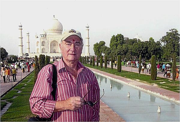Na wycieczce w Indiach (2009 r)
