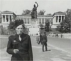 Marian Krauze. W polskich oddziałach wartowniczych US Army (Monachium 1955 r)